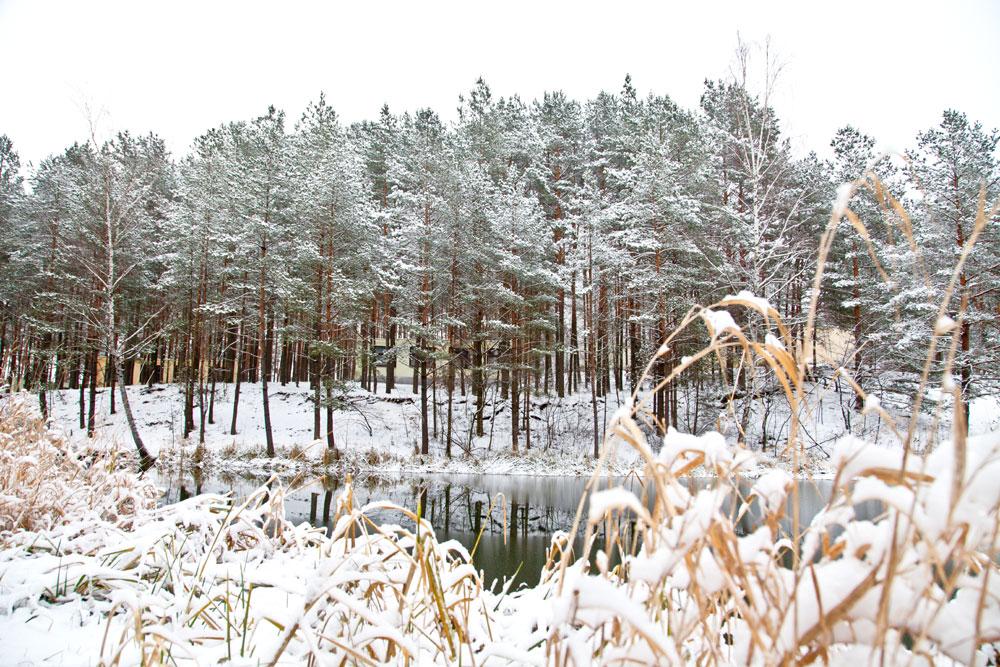 Zima w Hotelu nad Jeziorem